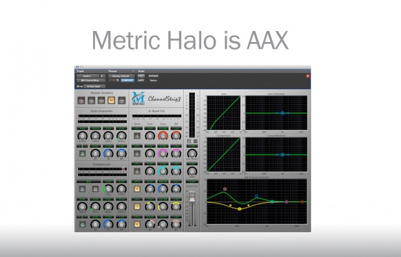 Metric Halo Channelstrip voor Pro Tools 10
