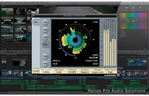 LM6 Radar Loudness Meter version 1.1