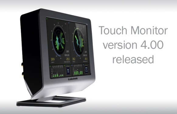 Version 4.00 for TouchMonitor