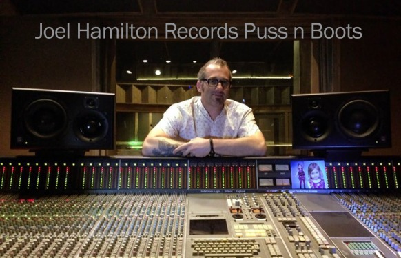 Joel Hamilton Records Puss n Boots with ATC