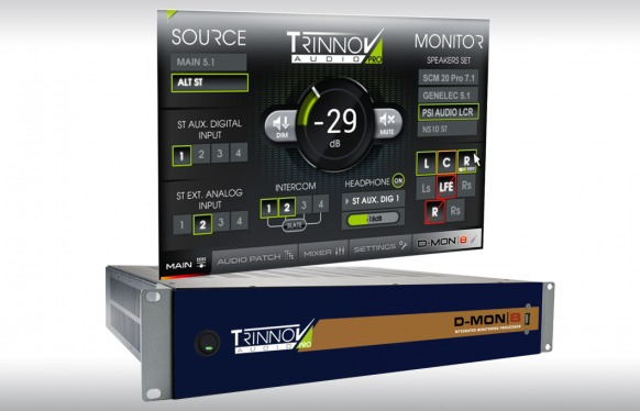 Trinnov D-MON to replace AVID X-MON