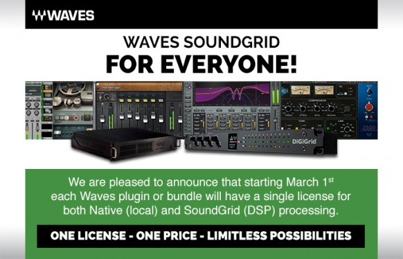 New Waves policy: One Licence, One Price